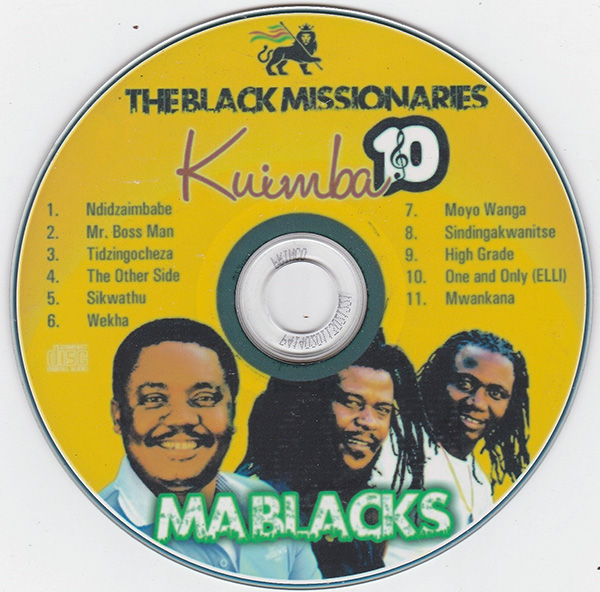 The Black Missionaries - Kuimba 10 (Official 2016 Album)